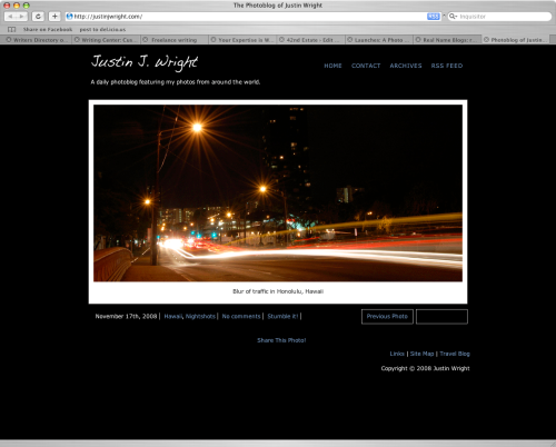 Justin Wright's Photoblog