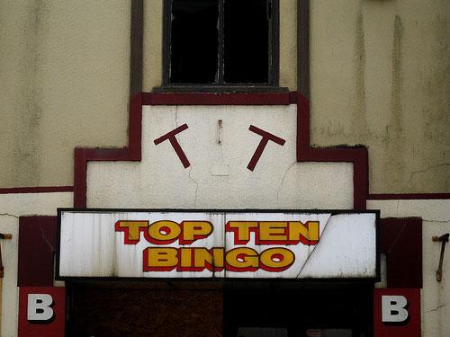 Top Ten Bingo